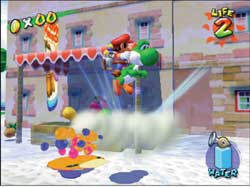 Super Mario Sunshine Review On Gamecube @ www.contactmusic.com