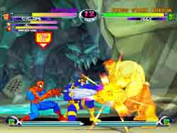 Marvel vs. Capcom 2 Review On PS2 @ www.contactmusic.com