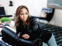 Music - Mary J Blige Interview - We caught up with the first lady of soul in her London hotel