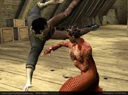 Enter The Matrix PS2 Screenshots @ www.contactmusic.com