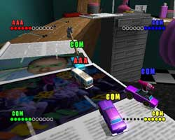 Micro Machines V4 - PS2 Screenshots - Codemasters