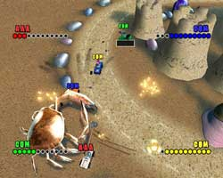Micro Machines V4 - PS2 Screenshots - C