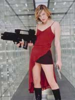 Watch  Milla Jovovich - Exclusive feature clip @ www.contactmusic.com