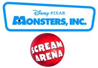 Monsters Inc. - Scream arena @ www.contactmusic.com