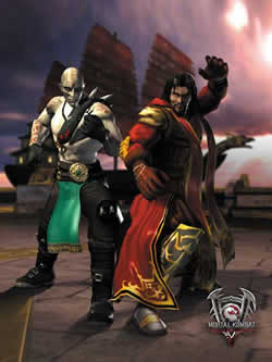 MORTAL KOMBAT : DEADLY ALLIANCE ON PS2 AVAILABLE @ www.contactmusic.com