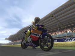 Moto GP 3 Screenshots on PS2  @ www.contactmusic.com