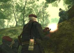 Metal Gear Solid 3 - Subsistence - Screenshots PS2
