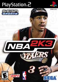 SEGA NBA 2K3 - REVIEWED ON PS2 @ www.contactmusic.com
