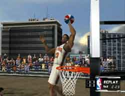 NBA Courtside 2002 for Nintendo GameCube by Left Field @ www.contactmusic.com