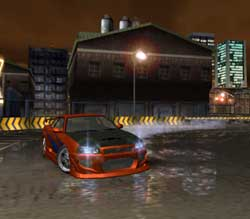 Game - Need For Speed Underground Screenshots PS2