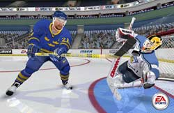 NHL 2005 - PS2 Screenshots