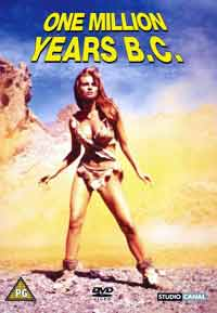 ONE MILLION YEARS B.C. available on DVD for the first time ever! @ www.contactmusic.com