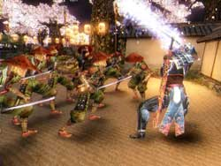 Onimusha Dawn of Dreams – Screenshots PS2 - Capcom