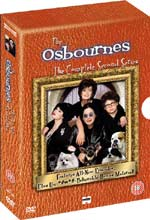 DVD release of The Osbournes Series 2 for 28th June 2004 + Video Clips
