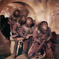 Planet of the Apes - David Hughes takes a look at a classic example of gorilla film making