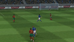 Pro Evolution Soccer 5 - PSP Preview