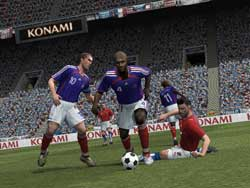 Pro Evolution Soccer 06 - Screenshots PS2 - Konami