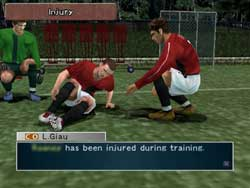 Pro Evolutiuon Soccer Management - Screenshots PS2