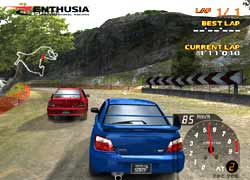 Enthusia Professional Racing - PS2 Screenshots