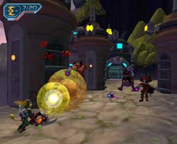 Ratchet and Clank 2 Locked and Loaded Screenshots PS2
