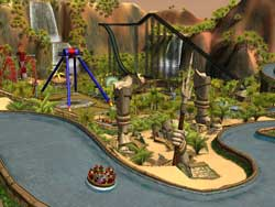 Rollercoaster Tycoon 3 Soaked Screenshots PC