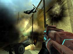 Red Faction II Reviewed On PS2 @ www.contactmusic.com