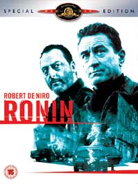RONIN SPECIAL EDITION - MGM HOME ENT - DVD RETAIL RELEASE 11 OCT 2004