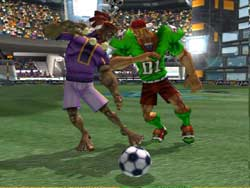 Sega Soccer Slam Reviewed On Gamecube @ www.contactmusic.com