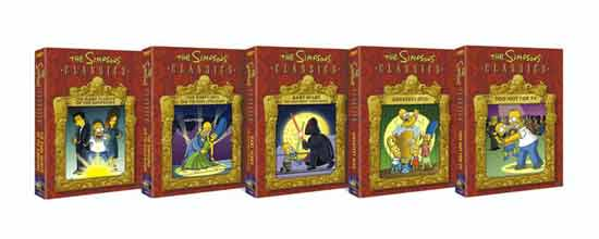 SIMPSON'S CLASSICS ARE RELEASED ON DVD!