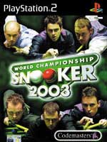 PS2 - World Championship Snooker 2003 - Review