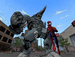 Ultimate Spiderman - PS2 Screenshots