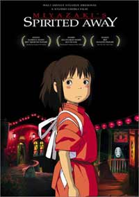 Film - Spirited Away  Japanese animated masterpiece reviewed on DVD - released March 29 th 2004