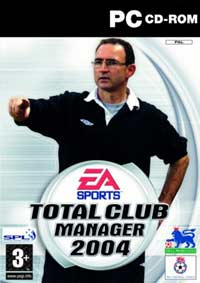Games - EA's - Total Club Manager 2004 PC Review