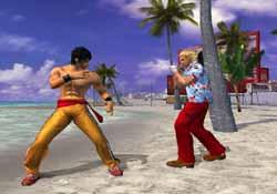 Tekken 4 On PS2 @ www.contactmusic.com