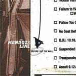 The Mendoza Line - Before I Hit Wall (19/04/04 Cooking Vinyl) - Single Review