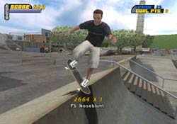 Tony Hawk's Pro Skater 4 On Gamecube @ www.contactmusic.com