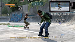 Tony Hawks Project 8 - Screenshots Xbox 360 - Activision