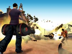 Total Overdose - Screenshots PS2