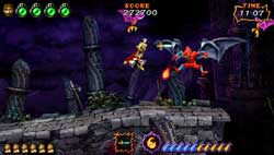 Ultimate Ghosts n Goblins - Screenshots PSP