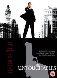 THE UNTOUCHABLES - SPECIAL EDITION (15) RELEASE 13 TH SEPTEMBER 2004 DVD REVIEW