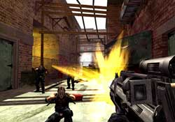 Urban Chaos: Riot Response - Screenshots PS2 - EIDOS