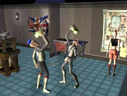 The Urbz: Sims in the City - PS2 Screenshots