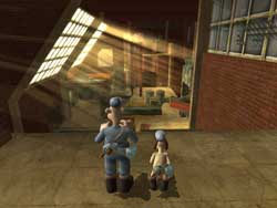 Wallace and Gromit - PS2 Screenshots