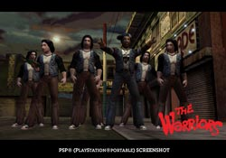 The Warriors - Screenshots PSP