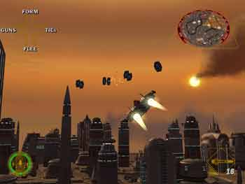 Free preview of new Star Wars Rogue Squadron 2 game for the Nintendo GameCube... @ www.contactmusic.com