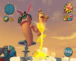 Worms Mayhem - PS2 Screenshots
