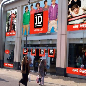 1d World Pop Up Store Opens In Leeds