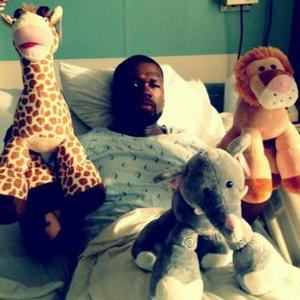 50 Cent Hosptialised