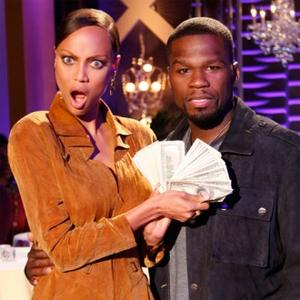 50 Cent With Tyra Banks picture