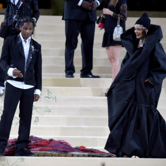 Rihanna and A$AP Rocky didn't plan matching Met Gala outfits